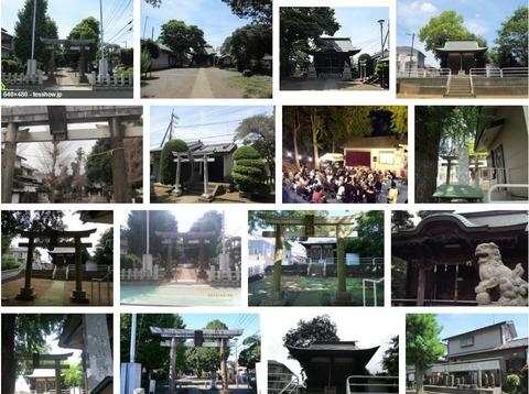 杉山神社 東京都町田市金森のキャプチャー