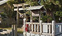 津毛利神社 静岡県浜松市南区参野町のキャプチャー