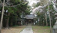 愛宕神社(登米市豊里町) - 江戸前期に相川城主武山牧之進真光の子が移住して創建