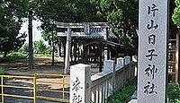 片山日子神社 岡山県瀬戸内市長船町土師のキャプチャー