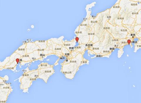 日本三大弁天とは? - 竹生島の都久夫須麻神社、宮島の厳島神社、江ノ島の江島神社