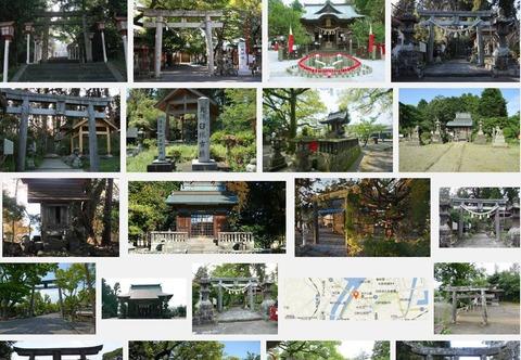 臼杵神社(大分県臼杵市大字稲田字林西平131)