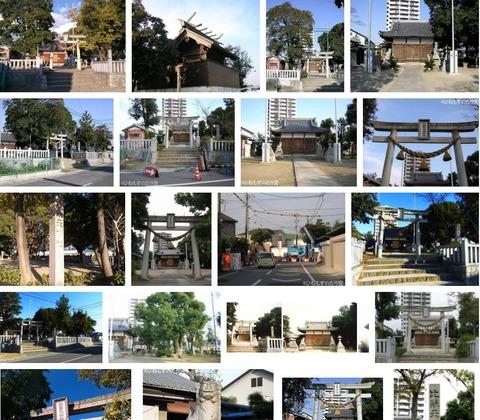 比蘇天神社 愛知県岡崎市宮地町北浦のキャプチャー