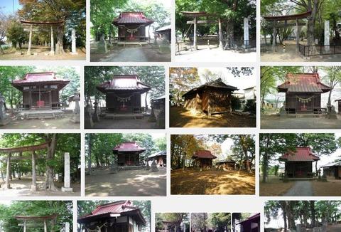 七本木神社 埼玉県児玉郡上里町七本木のキャプチャー