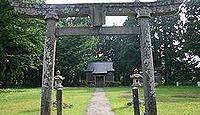 黒姫神社(柏崎市) - 奴奈川姫の母?を祀る、黒姫山から麓に遷座、綾子舞を老杉の下で
