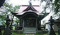 岩関神社 - 天正元年の創建、岩堰用水路を完成させた梅津政景を合祀、例祭は5月3日