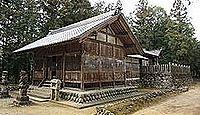 大山神社(富加町) - 白山宮・加茂明神とも呼ばれた下大山明神、式内加茂郡九座の一社