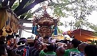 下高井戸浜田山八幡神社 東京都杉並区下高井戸のキャプチャー