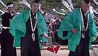 重要無形民俗文化財「岩国行波の神舞」 - 7年に一度の年期神楽では神殿を築造