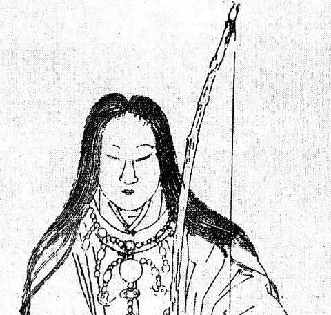 結い矢を携える戦う皇后 - 神功皇后
