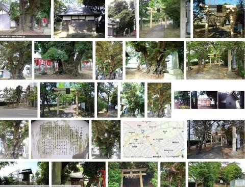 七ツ森神社 静岡県袋井市国本のキャプチャー