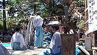 金峰神社(にかほ市) - 鳥海山の登拝口の一つ小滝口、奈曽の白滝とチョウクライロ舞