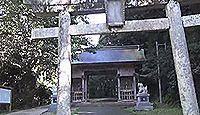 倭文神社 - 主祭神は建葉槌命だが、シタテル伝承やご神徳を色濃く残す伯耆国一宮