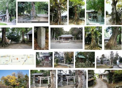 多太神社 奈良県御所市多田のキャプチャー