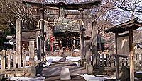 湯福神社 - 善光寺三社、西側15町が氏子で、善光寺開祖・本田善光廟とその古墳・御宝塚