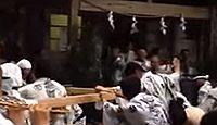 八幡宮来宮神社 - 一国一社の八幡宮に酒好きの神が遷座、天然記念物の社叢にスギの巨木