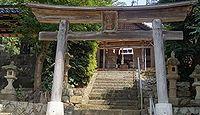 服部神社 鳥取県鳥取市福部町海士のキャプチャー