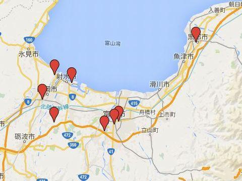 富山県の旧県社のキャプチャー
