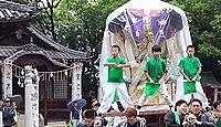 一宮神社(新居浜市) - 焼き討ちした毛利氏が祟り恐れた、樹齢1000年の大楠、太鼓祭り