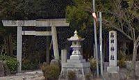 畠田神社 - 明治期に多数の式内社を合祀、『倭姫命世記』の「兵名胡神社」もか?