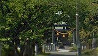 鵜川神社(宮場町) - 神代に鎮座、平安期に筥崎宮を勧請、琵琶島城主宇佐美氏の崇敬
