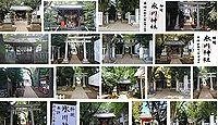 神明氷川神社 東京都中野区弥生町の御朱印