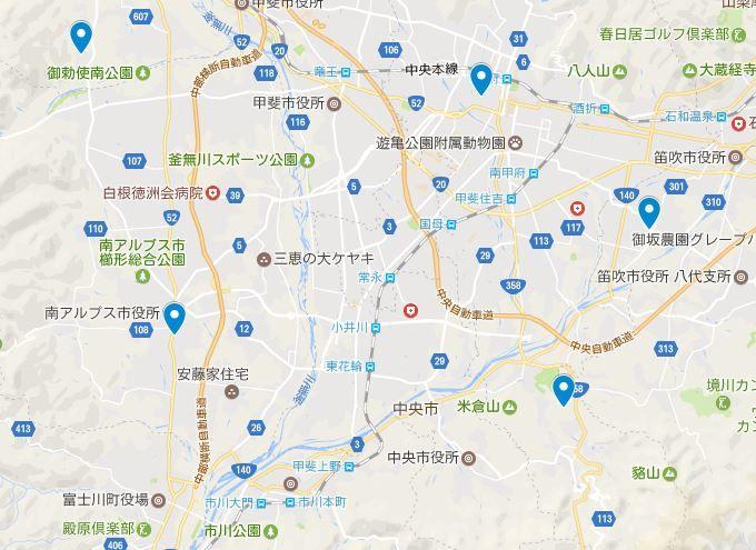 甲府盆地が太古は湖だった伝承を残す神社とは?のキャプチャー