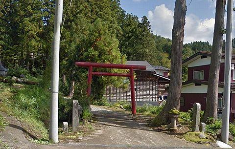 水嶋磯部神社 新潟県上越市清里区梨平のキャプチャー