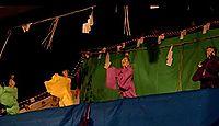 重要無形民俗文化財「古要神社の傀儡子の舞と相撲」 - 3年に1度、日本の人形戯の源流
