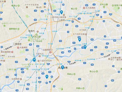 延喜式神名帳 筑後国の式内社 4座のキャプチャー
