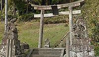 國司神社 島根県松江市西長江町