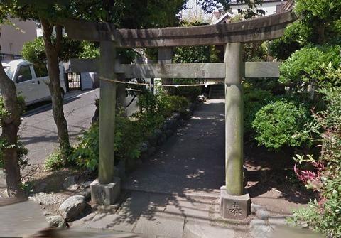 山神後神社 神奈川県横浜市泉区中田南5-48