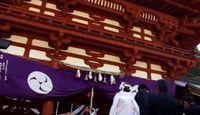 丹生都比売神社 - スサノヲのイミフ突然の暴虐で亡くなった御祭神の御神徳、世界遺産