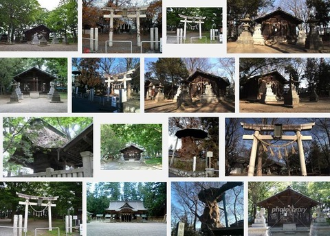 伊和神社 長野県松本市惣社のキャプチャー