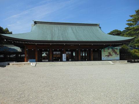 橿原神宮の外拝殿 正面 - ぶっちゃけ古事記