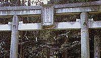 雨武主神社 東京都あきる野市雨間のキャプチャー