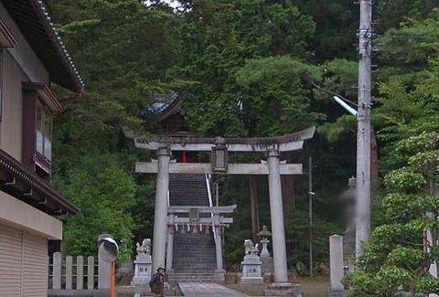 鵜甘神社 福井県越前市片屋町9-2