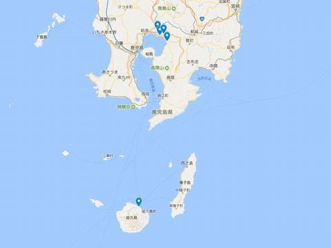 延喜式神名帳 大隅国の式内社 5座のキャプチャー