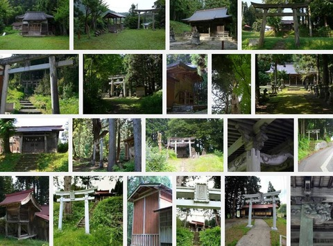 西村八幡宮 新潟県東蒲原郡阿賀町西のキャプチャー