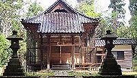 笠野神社(刈安) - 笠忍姫命が笠を縫った野々宮、河村郷の総社、複数の式内社の論社