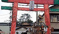 輪島前神社 - キリコ祭り、奇祭の面様年頭や恵比寿講祭、祝祭歌「輪島崎まだら・あのり」