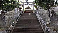 西向天神社 - 東大久保村の鎮守社、大久保の天満宮として知られる、江戸期の有力天神