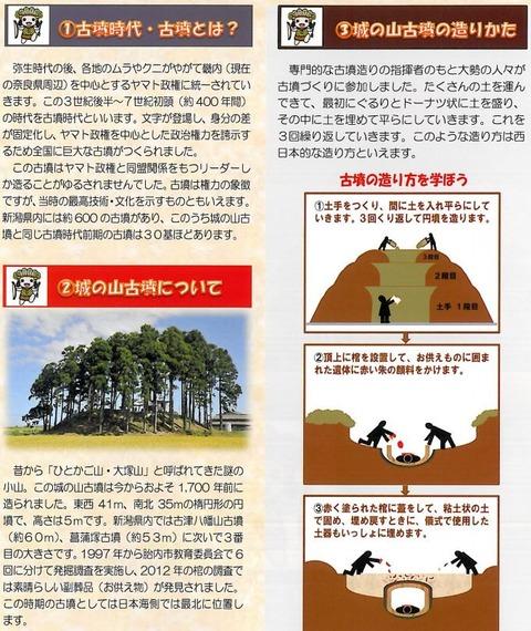 日本海側最北の前方後円墳? 各社が報道する「城の山古墳」、ニュースまとめ - 新潟・胎内のキャプチャー