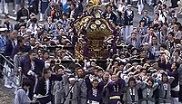 熊野神社(新宿区) - 江戸近郊の景勝地として知られた十二社の新宿総鎮守、3年ごとの大祭