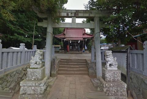 龍藏神社 神奈川県厚木市飯山のキャプチャー