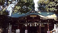 中目黒八幡神社 東京都目黒区中目黒のキャプチャー