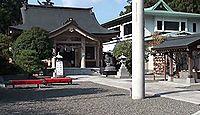 出雲大社京都分院 - 亀岡鎮座、明治初期の創立、参拝者が本社の方へ向くよう建つ拝殿