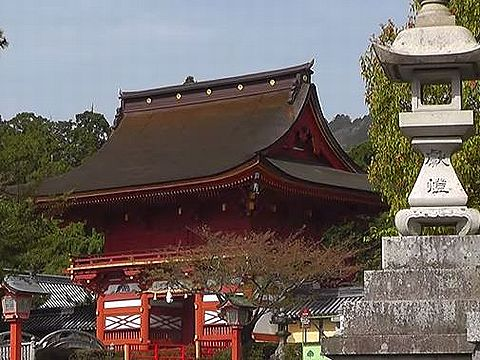 岐阜県の神社のキャプチャー