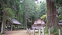 槻本神社(高山市) - 社地・社名の変更なく合併も拒否のブレない神社、樹齢1200年の大杉
