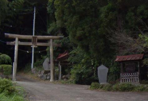金櫻神社 山梨県山梨市牧丘町杣口のキャプチャー